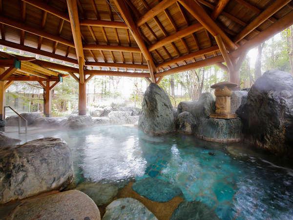 本陣大浴殿 庭園露天風呂