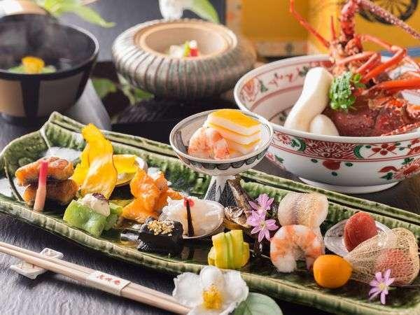 ■料理イメージ■彩り豊かな季節の味わい-美味求真-