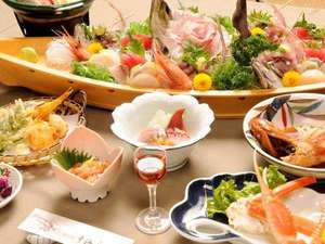 海の幸たっぷりの自慢のご夕食です!