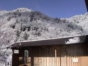 雪見露天の朝