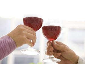 ワインでかんぱい!