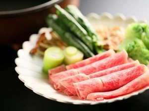 とろ〜りとろける牛肉すき焼きプランの一皿