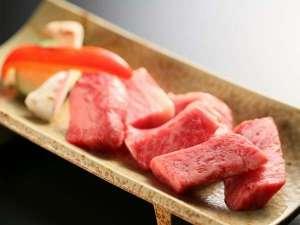 黒毛和牛の料理一例