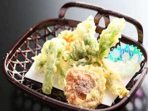 春の山菜天ぷら一例