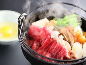 すき焼き鍋料理一例