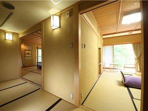 角部屋一例壁で仕切られた使い易い二部屋のお部屋