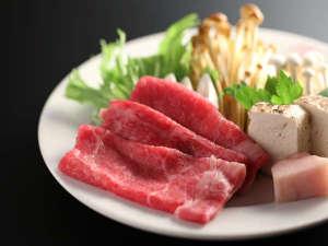 すき焼きプラン料理一例