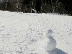 雪だるまくん…♪