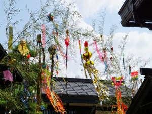飛騨では季節の行事を旧暦で行なう風習があります。七夕も8月に行われます。