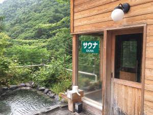 女性用サウナ 窓があり景色を眺めながら入れます。