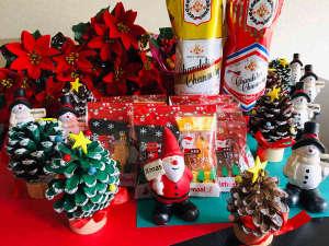 【温泉deクリスマス】しらほねで過ごす特別なX'masを♪クレープシュゼット&プレゼント付