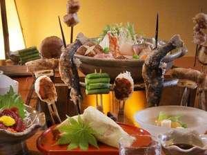 ■極上■ 一流の田舎膳を堪能 !厳選素材を食す!特別炉端会席プラン ~平日1日2組限定~