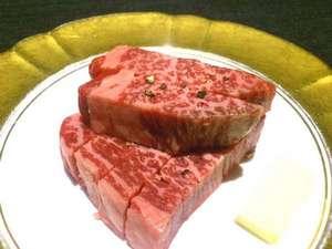 【料理グレードアップ】黒毛和牛→A5ランク鹿児島牛ヒレ肉に◆上質な脂と柔らかな食感◎【部屋食】