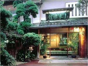 山木旅館 玄関