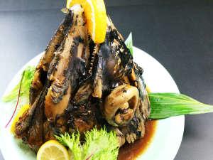 海の幸を扱う宿だからこそ食べていただきたいマグロのかぶと煮!自家製のタレが旨さを引き立てます★*