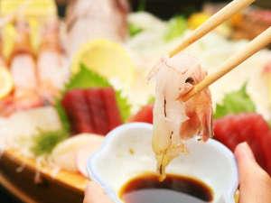 海の幸を扱う宿だからこその捕りたて新鮮鮮魚をお召し上がり下さい