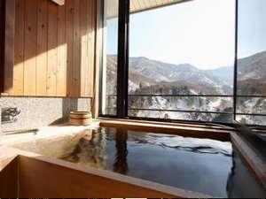 新館【東館】特別室の展望風呂