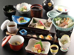 京風会席料理一例季節によりメニューが変わります。