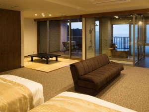 2017年7月新規オープン!最上階(7階)海一望の露天風呂付き特別室