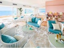ソラノビーチBooks&Cafe[空に浮かぶビーチにいるような不思議な感覚を味わえる空間]