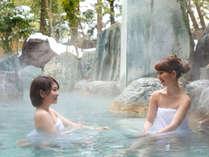 【冬】例年12月頃から雪見露天風呂が楽しめます。
