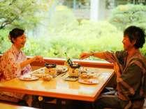 大人の二人旅にぴったり。日本料理緑亭でゆったりしたひとときを
