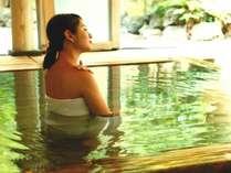 良質な温泉に浸かり、癒しのひとときをお過ごしください。(※イメージ)